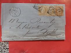 07.01.17_LAC De Paris Bercy,n°55 X 2 Et N°38 A Voir!! - Poststempel (Briefe)