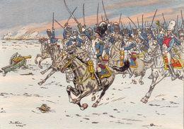 CP - Pierre Albert Leroux - Illustrateur - Barré Et Dayez - Général Lepic à Eylau - 1201D - Künstlerkarten