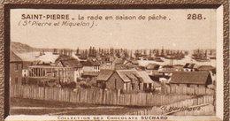 """3 Images Suchard """" Série Coloniale """"  St Pierre Miquelon -Martinique  Nos  285 287 288 - Cioccolato"""