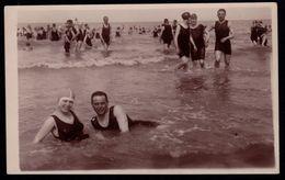 CARTE DE PHOTO FOTOKAART BLANKENBERGHE BLANKENBERGE HOUTART LAUREYS * à L'eau * - Blankenberge