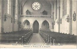 Virton - Ecole Normale Et Pensionnat De L'immaculée Conception - Intérieur Et Tribune De La Chapelle - Virton