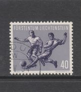 Yvert 287 Oblitéré Football - Liechtenstein