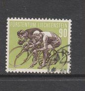 Yvert 330 Oblitéré Cyclisme - Liechtenstein