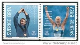 ZWEDEN 2012 Zweedse Olympiawinnaars Paar 1 PF-MNH - Suède
