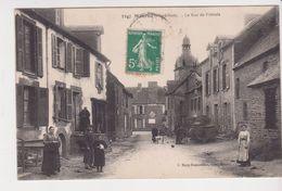 26363 MAURON- La Rue De Frenais  Machine Agricole -3347 Mary Rousseliere -femme Café Tabac Guillotin - Autres Communes