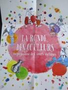 Dépliant/affiche (14,5x10,5 Cm Puis 41x29,5 Cm) : La Ronde Des Couleurs, Programme De 6 Courts Métrages - Merchandising