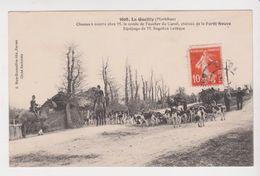 26367 La Gacilly France 56 -Chasses Courre Comte Foucher Carell, Chateau Foret Neuve Equipage Rogatien Leveque -meute - Chasse
