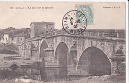 Carte 1906 QUISSAC / LE PONT SUR LA VIDOURIE - Quissac