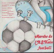 45t.  Marche De L'A.S. KAIN  Football - Collector's Editions