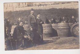 26369 Carte Photo Cavalerie Militaire Cheval (vers1910 ?) Peut Etre Bretagne  France -tonneau Ravitaillement ED - Personnages