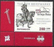 2017 Österreich Austria Mi. 3362 **MNH  Tag Der Briefmarke. Kurfürst Maximilian I. - 2011-... Unused Stamps