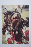 AFRICA, MALAWI GULE DANCER Warm Heart Of Africa  Old Postcard - Crowned Eagle Stamp - Malawi