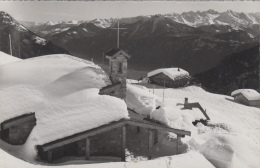Suisse - Les Marécottes - Chapelle Et Restaurant De La Creusaz - VS Valais