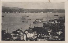 Turquie - Istanbul - Kuruçesme - Bâteaux Port - Turchia
