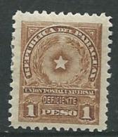 Paraguay - Service    - Yvert N° 11  *   -   Ah 23833 - Paraguay