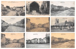 (54) Meurthe Et Moselle - Lot De 17 CPA Réméréville Environs De Lunéville - Ruines Guerre 1914 1915 - Bon état - Luneville