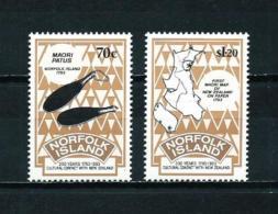 Norfolk  Nº Yvert  545/6  En Nuevo - Isla Norfolk