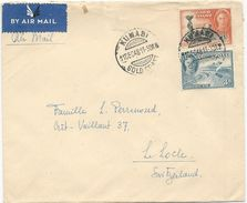 LOT DE 4 LETTRES GOLD COAST 1946/48 - Gold Coast (...-1957)