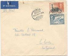 LOT DE 4 LETTRES GOLD COAST 1946/48 - Costa D'Oro (...-1957)