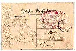 Franchise Militaire Le Puy Hopital Auxiliaire 13 ème Corps - War 1914-18