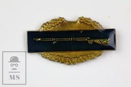 Hunting Rifle Advertising Pin Badge - Juegos Olímpicos