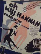 OH, MISS HANNAH - Musique De JESSIE L .DEPPEN - Paroles Anglaises De TEKLA HOLLINGSWORTH. - Spartiti