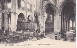 75----PARIS--intérieur De Notre-dame--la Chapelle De La Vierge---voir 2 Scans - Eglises