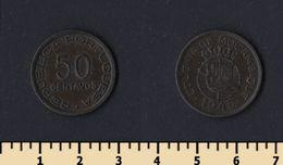 Mozambique 50 Centavos 1945 - Mozambique
