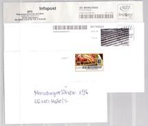 E-72, BRD, Privatpost, MZZ Briefdienst, 6 Bedarfsbriefe - [7] Federal Republic
