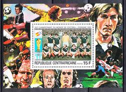 Rep. Central African   -   1981.  Scotland Team. BF MNH Rare - Coupe Du Monde