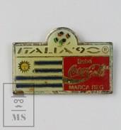 Coca Cola Italy 1990 FIFA World CUP Pin Badge - Coca-Cola