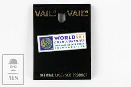 Vail 99, World Alpine Ski Championship Beaver Creek Colorado USA  Badge - Invierno