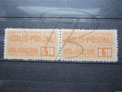 VEND BEAUX TIMBRES DES COLIS POSTAUX DE FRANCE N° 77 EN PAIRE , XX !!! - Paketmarken