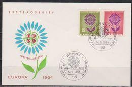 BRD FDC 1964 Nr.445 - 446 Europa (d 3872 ) Günstige Versandkosten - BRD