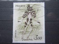 VEND BEAU TIMBRE DE FRANCE N° 2068 , YEUX BLANCS , XX !!! - Variedades Y Curiosidades