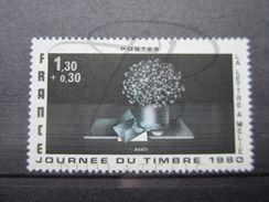 VEND BEAU TIMBRE DE FRANCE N° 2078 , ROSE ABSENT , XX !!! - Errors & Oddities