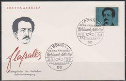 BRD FDC 1964 Nr.443 100 Todestag Ferdinand Lassalle ( D 3874 ) Günstige Versandkosten - BRD