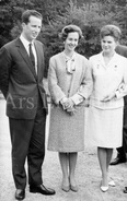 Postcard / ROYALTY / Belgique / Roi Baudouin / Koning Boudewijn / Валентина Теречкова / Valentina Tereshkova / 1966 - Femmes Célèbres