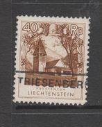 Yvert 101 Oblitéré - Liechtenstein