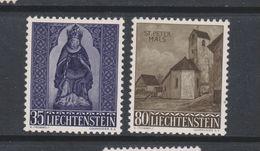 Yvert 337 / 338 ** Neuf Sans Charnière - Liechtenstein