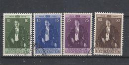 Yvert 309 / 312 Oblitéré - Liechtenstein