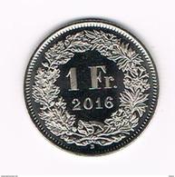 ) ZWITSERLAND  1 FRANC  2016 B - Zwitserland