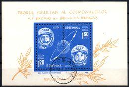 ROMANIA 1963 - Mint MNH** Space Espace Joint Flight Of Vostok 5 & 6 Olive Branch Ölzweig Rama De Olivo - Space