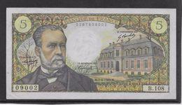 France 5 Francs Pasteur - 5-6-1969 - Fayette N° 61-10 - SPL - 5 F 1966-1970 ''Pasteur''