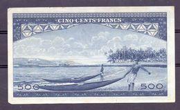Guinea 500 Fr 1960 Boats - Billets
