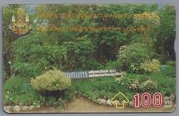 TH.- THAILAND. Phonecard. - 09-05-39 -. 100 BATH. - Park. 2 Scans - Thailand