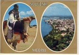 NIGERIA SOUVENIER MULTI VIEW  NICE STAMP - Nigeria