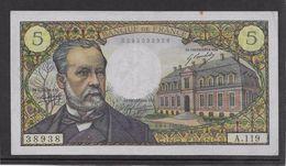 France 5 Francs Pasteur - 8-1-1970 - Fayette N° 61-12 - SUP - 1962-1997 ''Francs''