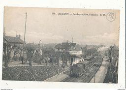 MEUDON LA GARE RIVE GAUCHE CPA BON ETAT - Estaciones Con Trenes