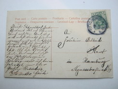 1906 , OTTOROWO , Klarer Stempel  Auf Karte - Brieven En Documenten